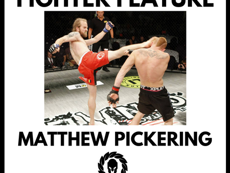 Sponsor The Fighters Featured Fighter: Matthew Pickering