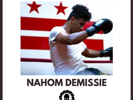 Sponsor The Fighters' Fighter Feature: Nahom Demissie