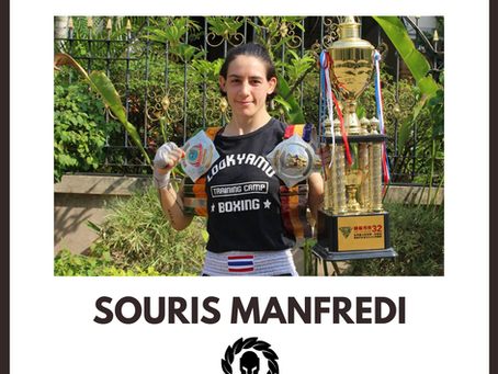 Sponsor The Fighters' Fighter Feature: Souris Manfredi