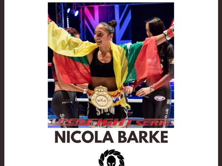 Sponsor The Fighters' Fighter Feature: Nicola Barke