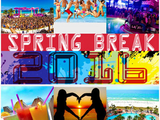 Spring Break 2016 is Here! Check out the latest nearby events and low rate condo rentals