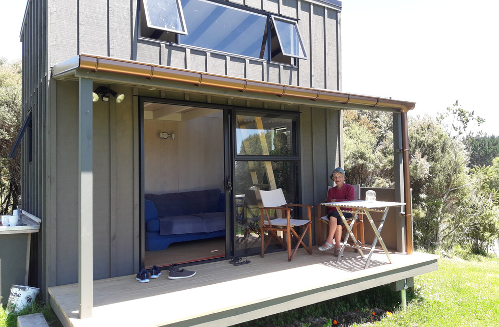 Mangawhai Cabin - Exterior