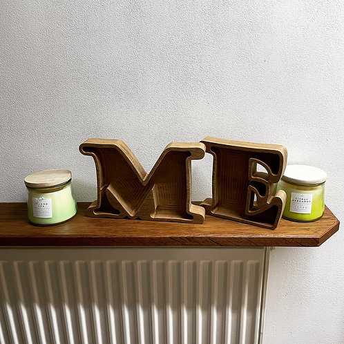 Hardwood Trinket Trays or Stand Up Letters & Numbers