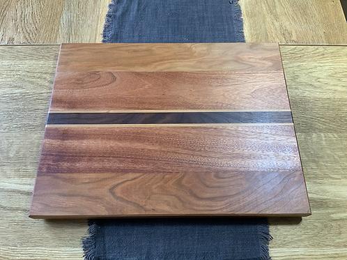 Large Hardwood Cherry, Aframosia & Walnut Chopping Board