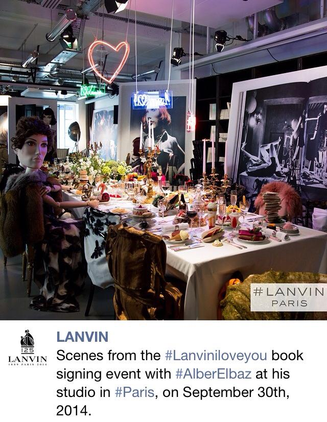 Lanvin Book Launch