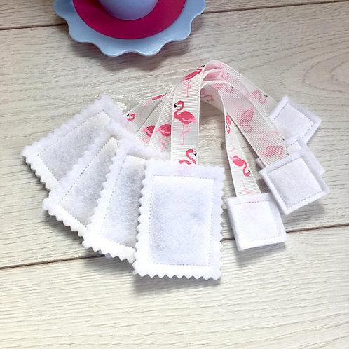 Patterned Ribbon Tea Bags