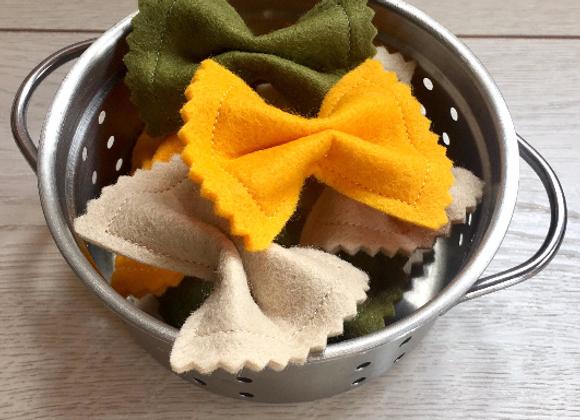 Tri Colour Farfalle Pasta Bows