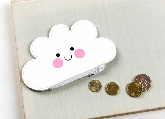 Cloud Vynl Coin Purse