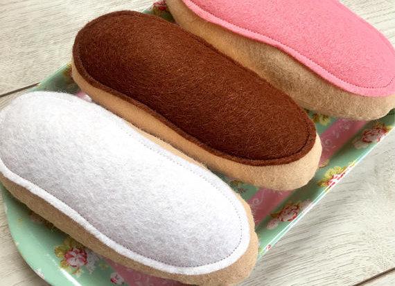 Set of Three Iced Buns