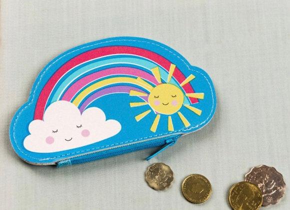 Rainbow Vynl Coin Purse