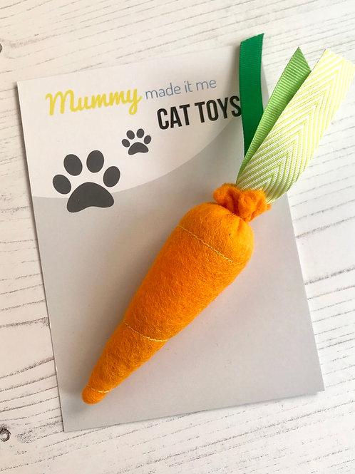 Novelty Felt Food Cat Nip Carrot Cat Toy