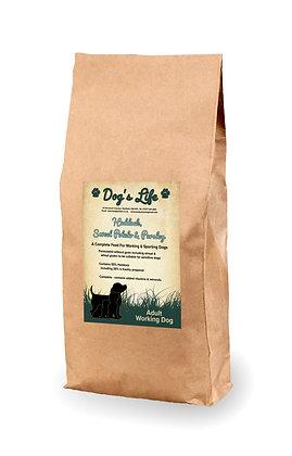 Working Dog Grain Free Haddock with Sweet Potato & Parsley