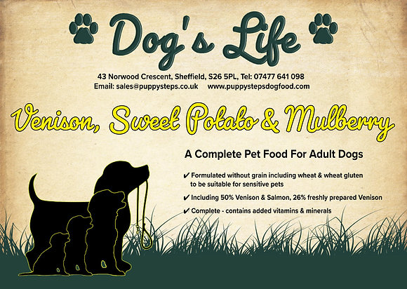 Complete grain free dog food highest meat content
