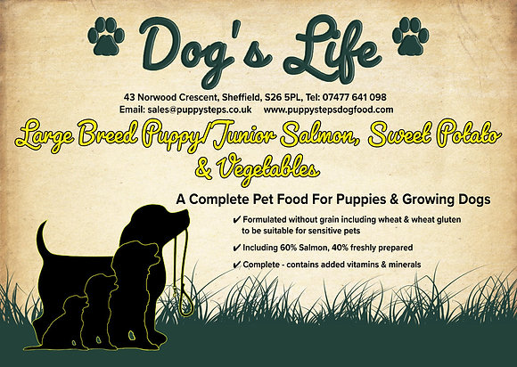 The best large breed puppy food