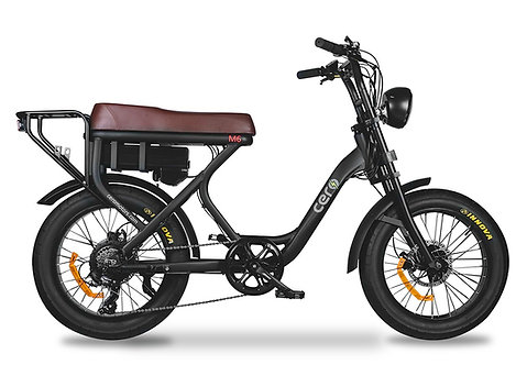 Bicicleta Eléctrica Cero M6s
