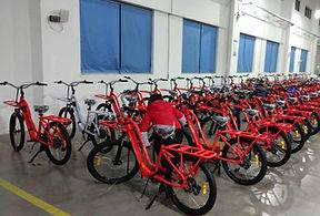 bicicleta electrica de reparto ebike cargo delivery