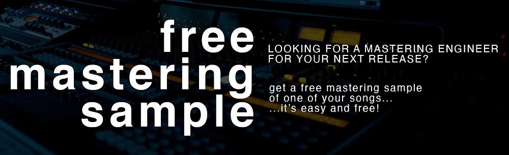 free mastering sample