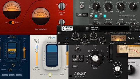 MY TOP COMPRESSOR PLUGINS FOR MIXING