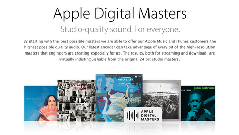 WHAT IS APPLE DIGITAL MASTER?