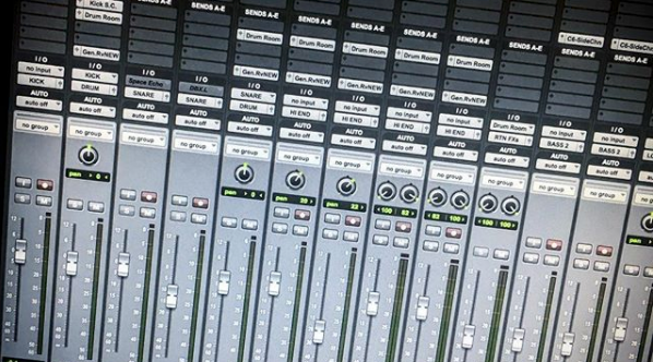 PtoTools mixing session