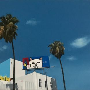 Painter Billboard on Fairfax Avenue, 2020