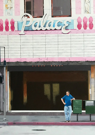 The Palace Theater, LA, 2018