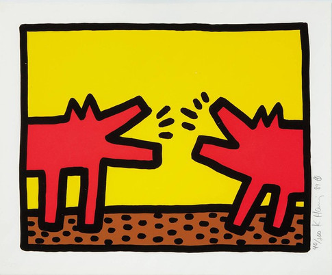 Untitled from Pop Shop IV (Barking Dogs)