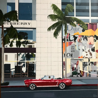 Burberry from the Rodeo Drive series, 2018