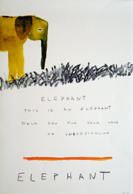 Elephant. This is an Elephant. Fuck You For Your Lack of Understanding.
