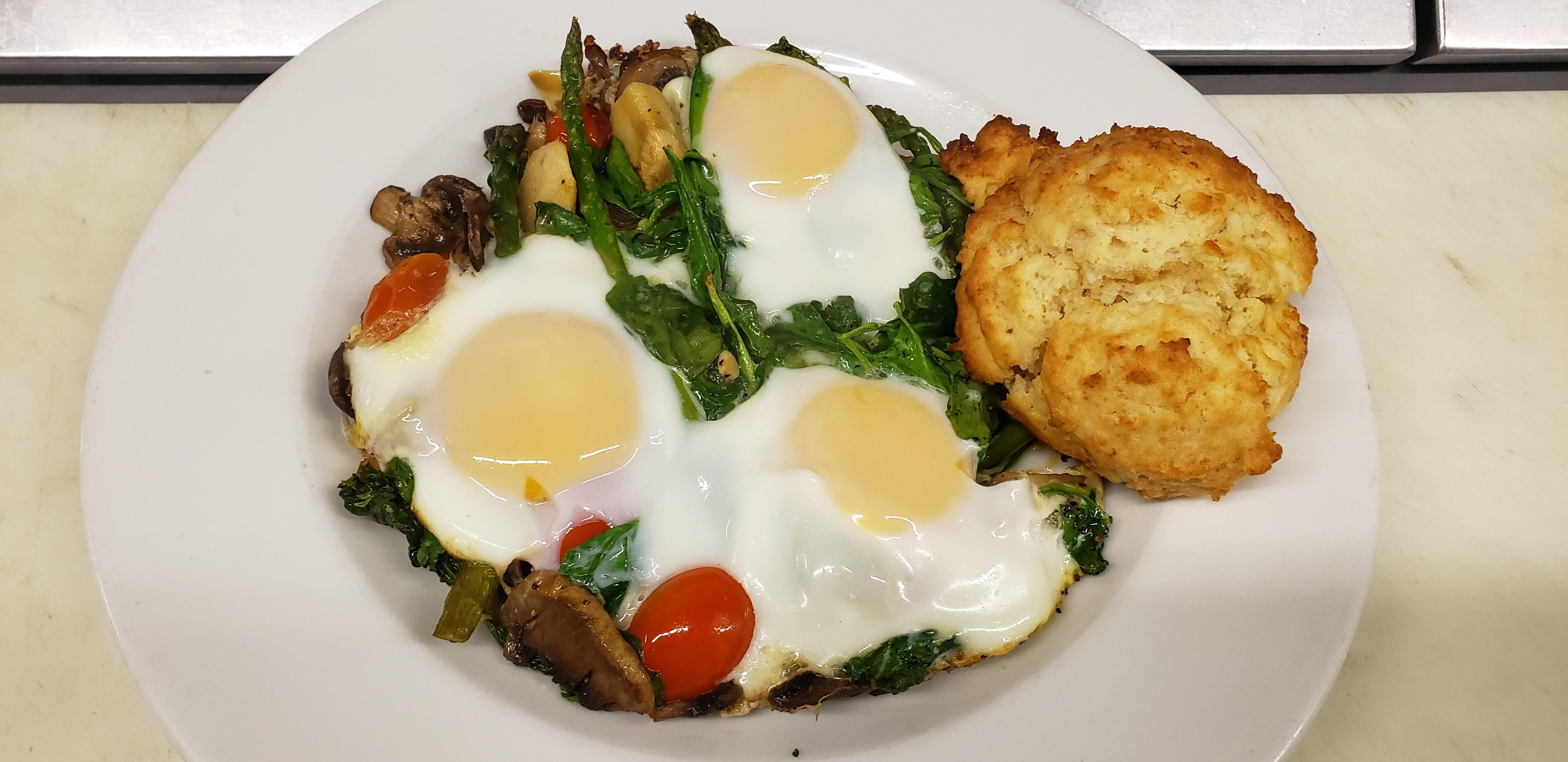 Eatery, Cracked Egg Skillet
