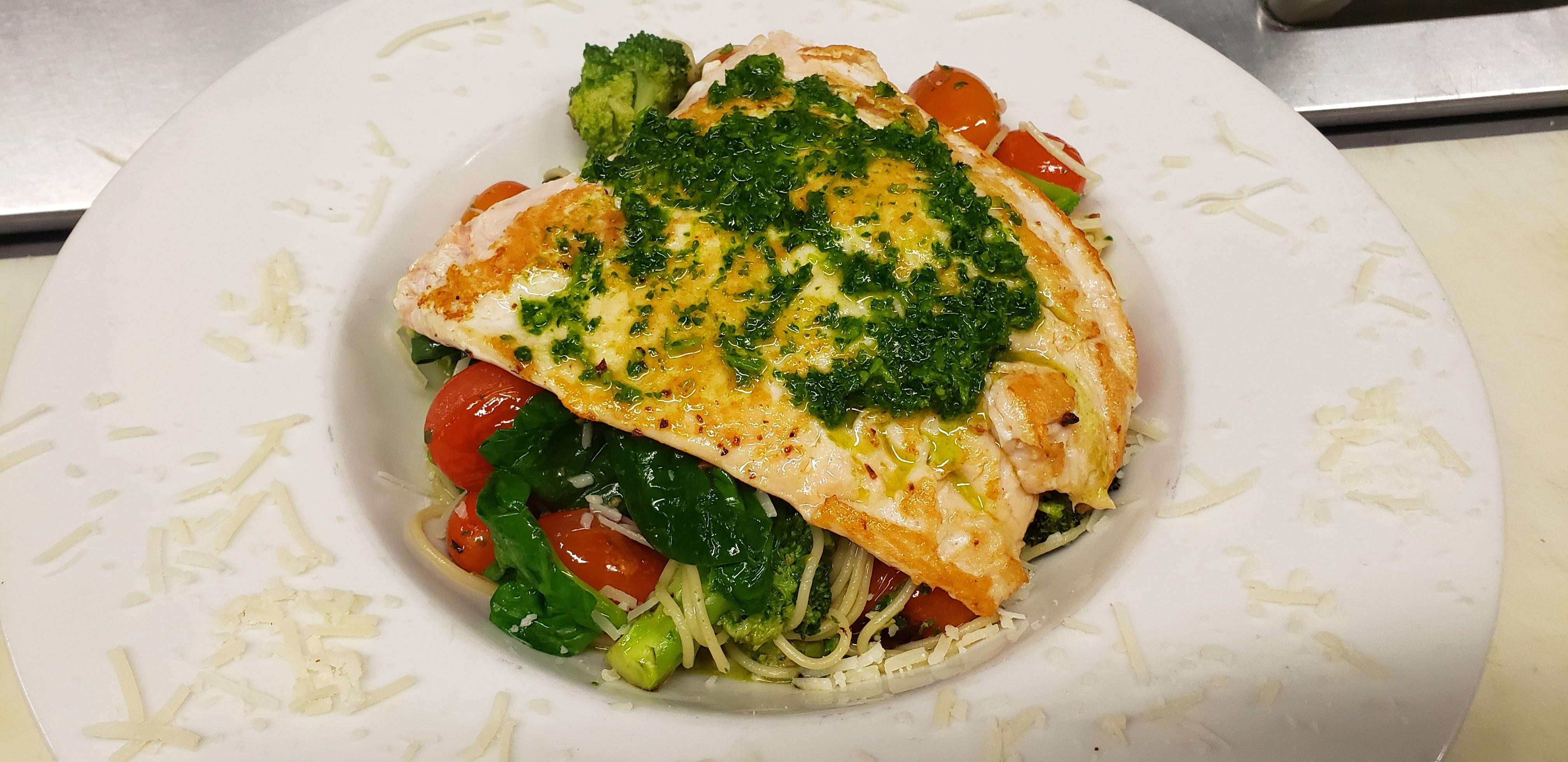 Eatery, Salmon Gremolata Pasta