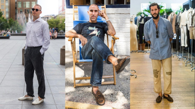 Featured On GQ Style - Three of the City's Coolest Designers on How They Wear New York's Oldest-School Loafer
