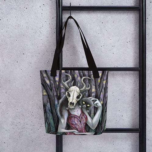 Meluna the Witch Tote bag