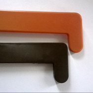 Заглушка для подоконника (золотой дуб, махагон)