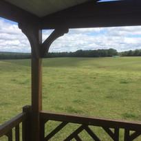 Uitzicht Mobil Home au lac 2