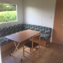 Woonkamer Mobil Home au Lac