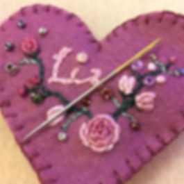 embroidery and crewel work