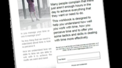 Managing Time Workbook