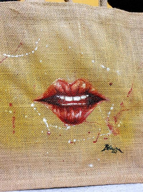 Kiss - shopping bag