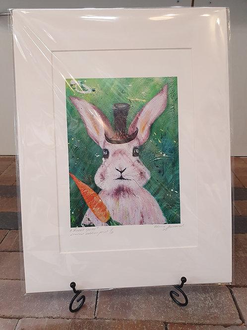 Rabbit  Spells - A4 Print