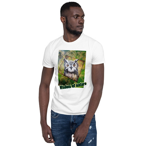 Short-Owl - print on T-Shirt