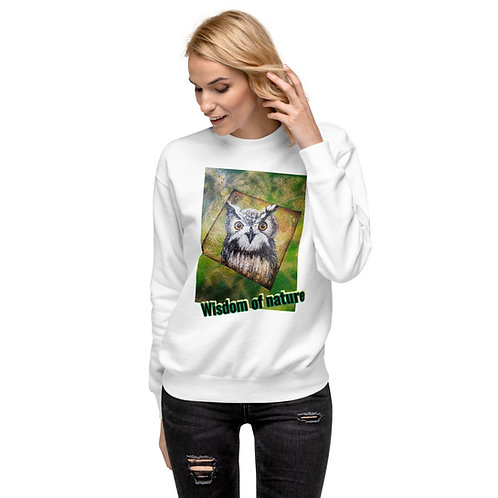 Owl - Print on Pullover