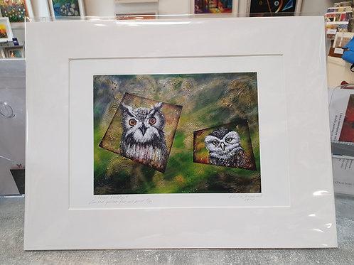 Forest Buddies A4-Print
