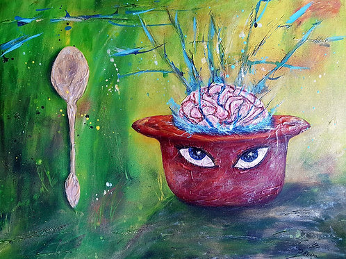 Artist's brain