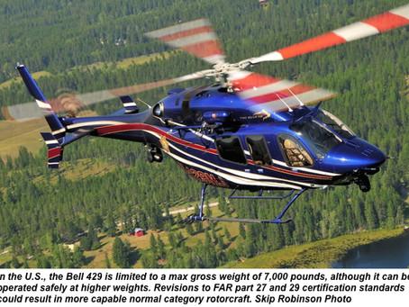 FAA Will Re-Examine Rotorcraft Certification Standards