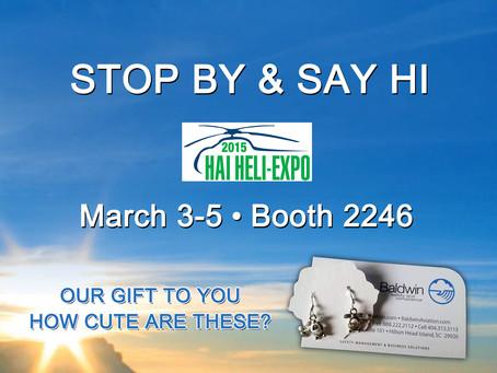 Stop by & Say Hi! HAI Heli-Expo