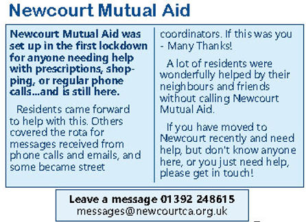page 3 mutual aid from Newcourt News Dec