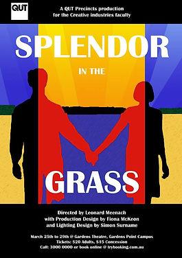 Splendor in the grass theatre production poster
