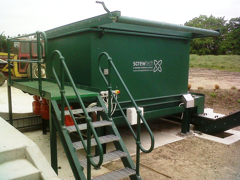 HOTROT SCREWTECH FEED HOPPERS