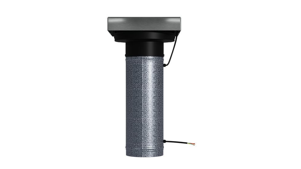 VTM190 Tube Mounted Extractor Roof Fan   Ventech